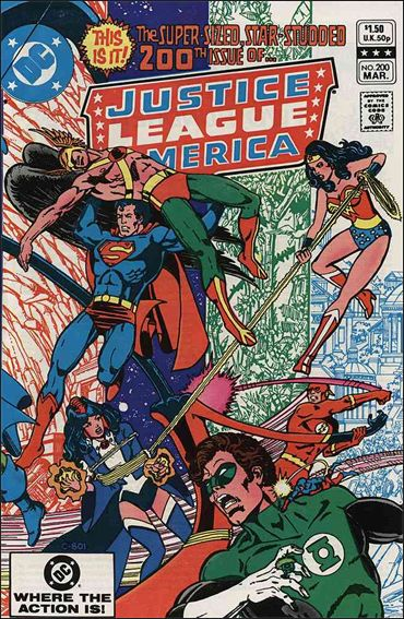 Justice League of America (1960) 200-A by DC