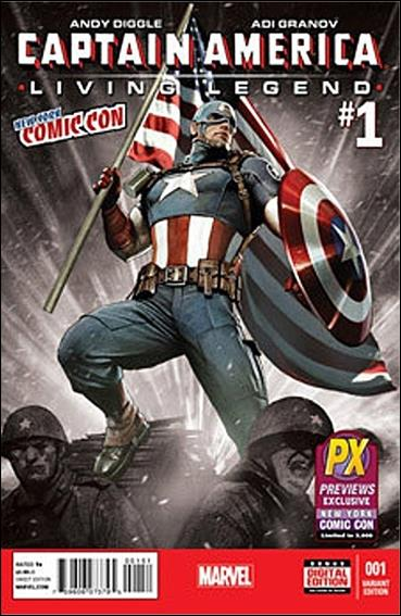 Captain America: Living Legend 1-D by Marvel