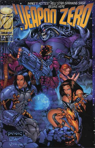 Weapon Zero (1995) T-4-A by Image