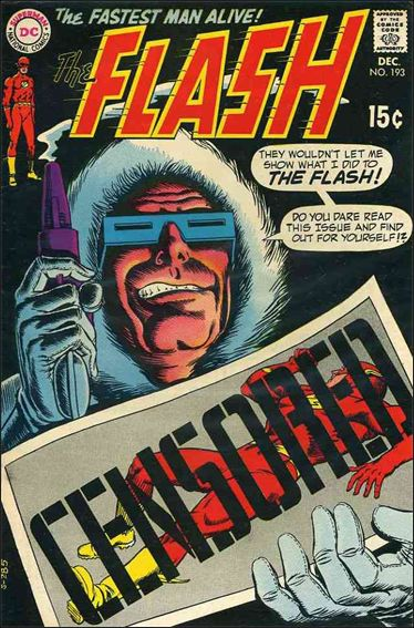 Flash (1959) 193-A by DC
