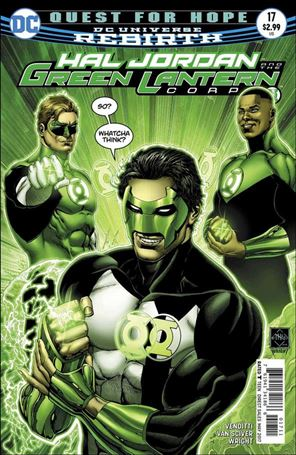 Hal Jordan and the Green Lantern Corps 17-A