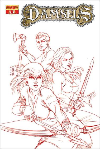 Damsels 4-D by Dynamite Entertainment
