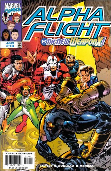 Alpha Flight (1997) 18-A by Marvel