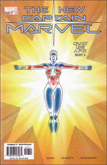 Captain Marvel (2002) 17-A by Marvel