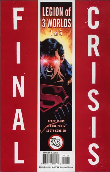 Final Crisis: Legion of Three Worlds 1-A by DC