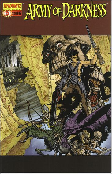 Army of Darkness (2006) 5-A by Dynamite Entertainment