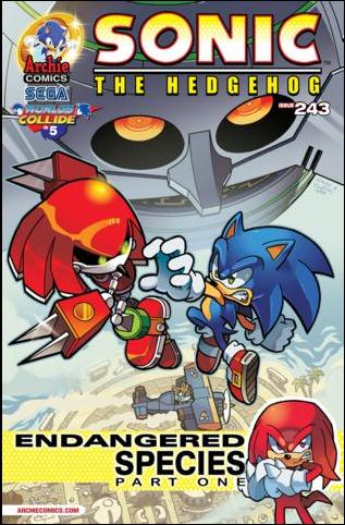Sonic the Hedgehog (1993) 243-A by Archie