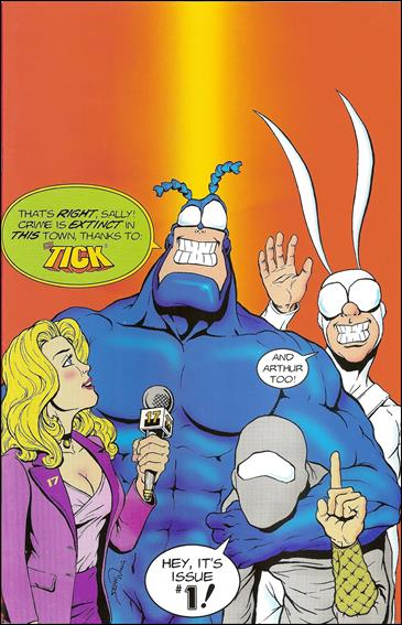 Tick and Arthur 1-B by New England Comics Press (NEC / NECP)