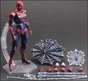 Marvel Universe Variant (Play Arts ~ Kai)  Spider-Man (Loose)