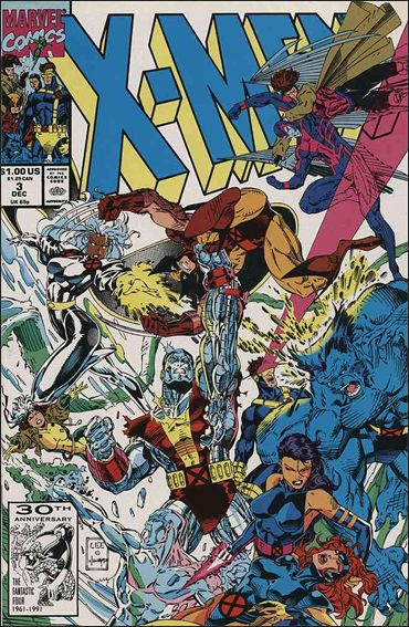 X-Men (1991) 3-A by Marvel