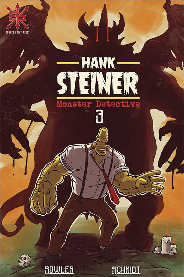 Hank Steiner: Monster Detective 3-A by Source Point Press