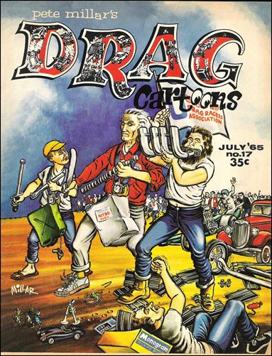 Drag Cartoons (1963) 17-A by Millar