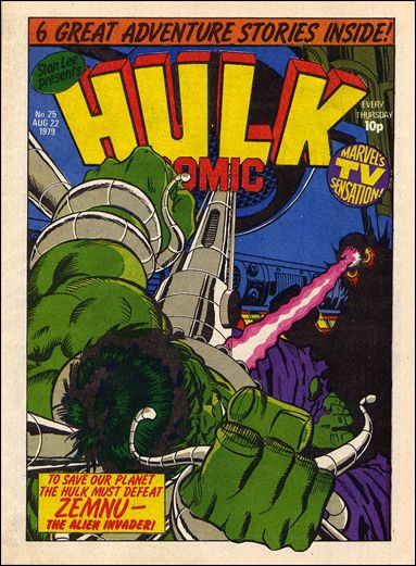 Hulk Comic (UK) 25-A by Marvel UK