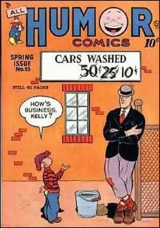 All Humor Comics 13-A by Quality