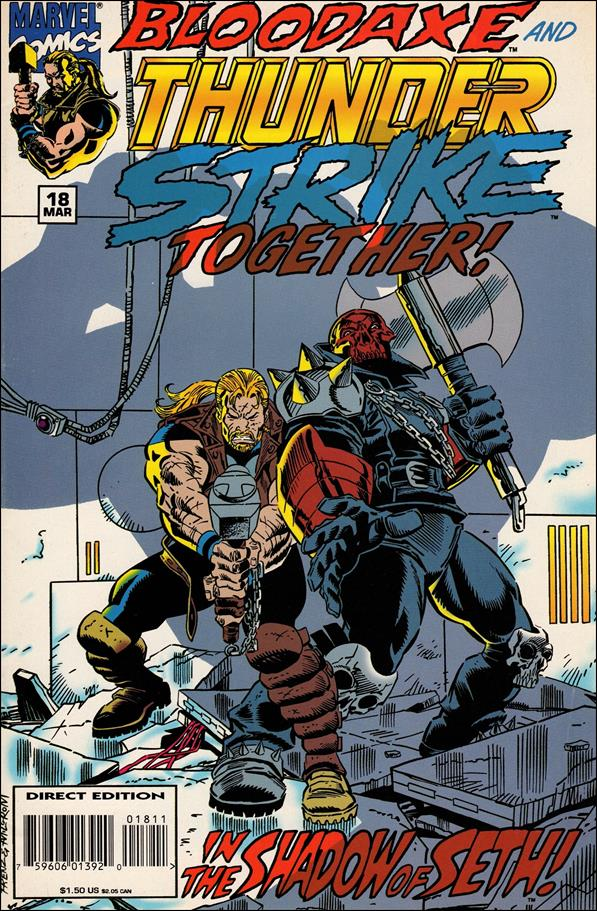 Thunderstrike (1993) 18-A by Marvel