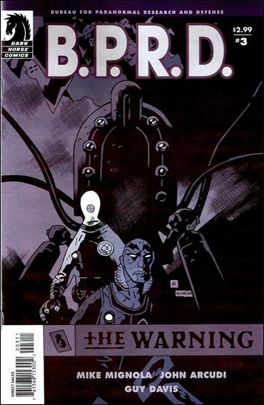 B.P.R.D.: The Warning 3-A by Dark Horse