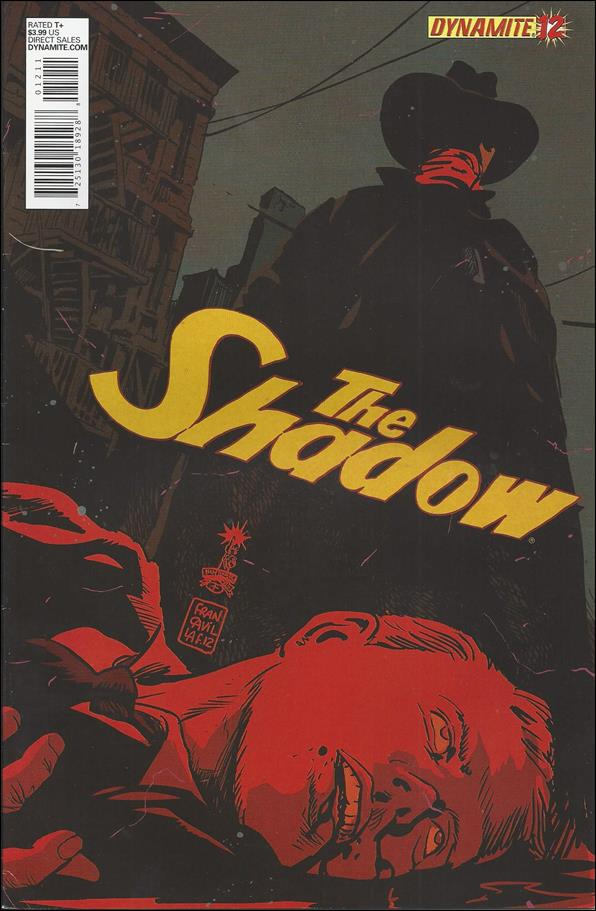 Shadow (2012) 12-D by Dynamite Entertainment