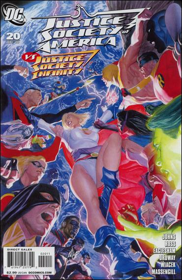 Justice Society of America (2007) 20-A by DC