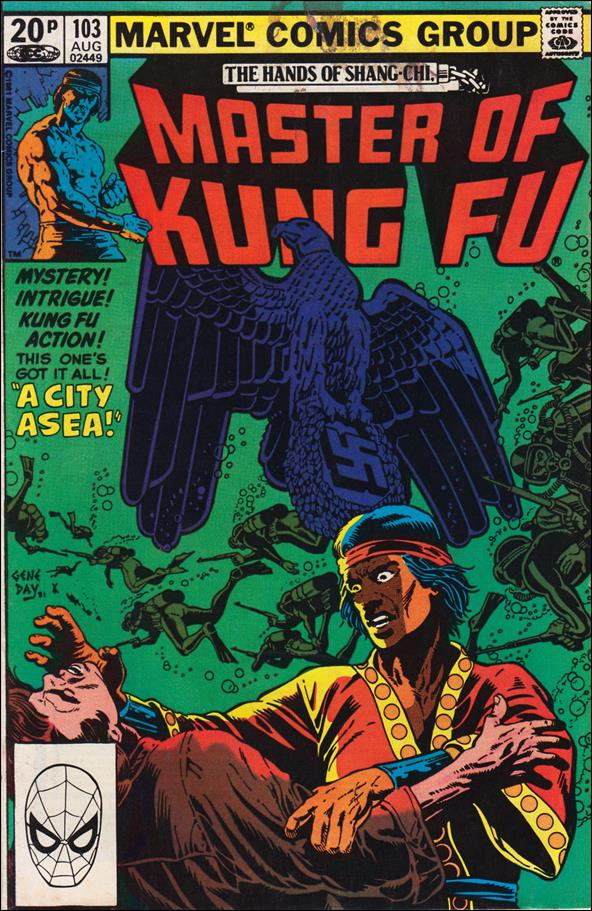 Master of Kung Fu 103-B by Marvel