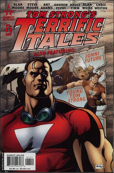 Tom Strong's Terrific Tales 11-A by America's Best Comics