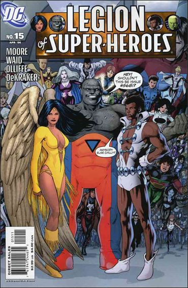 Legion of Super-Heroes (2005) 15-A by DC