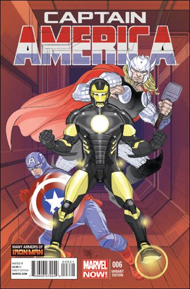 Captain America (2013) 6-B by Marvel