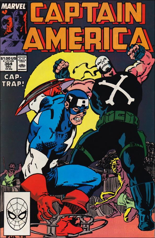 Captain America (1968) 364-A by Marvel