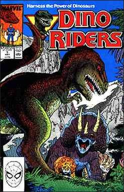 Dino-Riders 3-A by Marvel