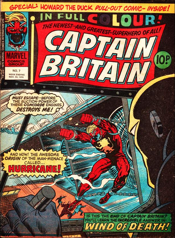 Captain Britain (UK) (1976) 7-A by Marvel UK