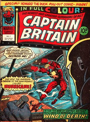 Captain Britain (UK) (1976) 7-A