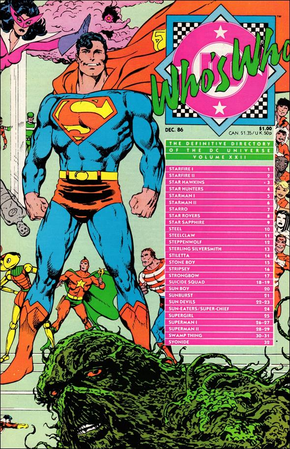 Who's Who: The Definitive Directory of the DC Universe 22-A by DC