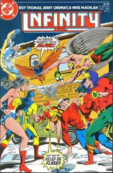 Infinity Inc. (1984) 5-A by DC