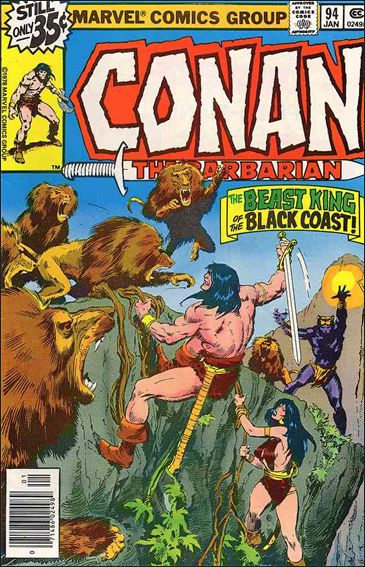 Conan the Barbarian (1970) 94-A by Marvel