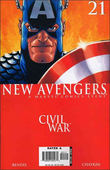 New Avengers (2005) 21-A by Marvel
