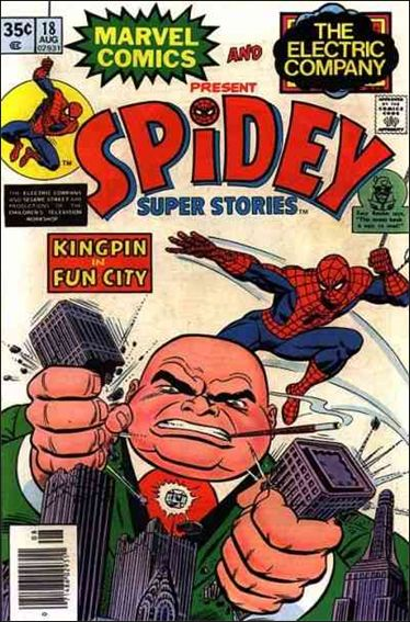Spidey Super Stories 18-A by Marvel
