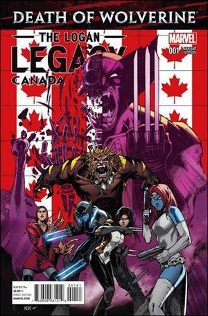 Death of Wolverine: The Logan Legacy 1-B