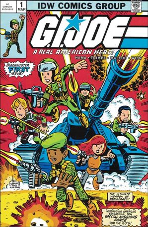 G.I. Joe: A Real American Hero 1-H