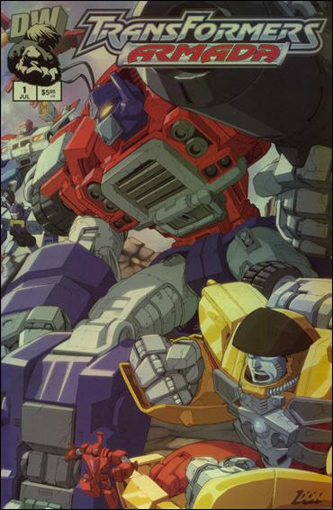 Transformers: Armada (2002) 1-B by Dreamwave