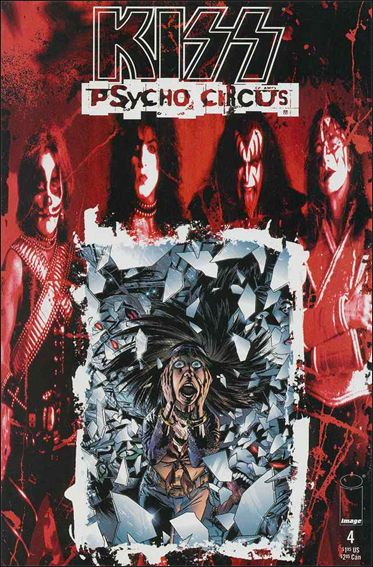 Kiss: Psycho Circus 4-A by Image