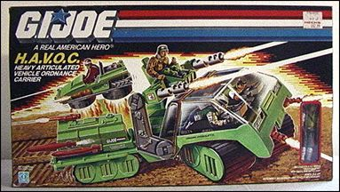 "G.I. Joe: A Real American Hero 3 3/4"" Basic Vehicles and Playsets H.A.V.O.C.  by Hasbro"