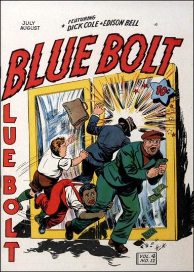 Blue Bolt (1943) 12-A by Novelty Press