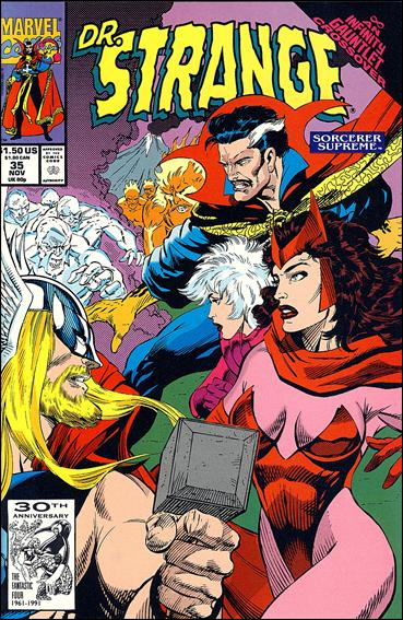 Doctor Strange, Sorcerer Supreme 35-A by Marvel