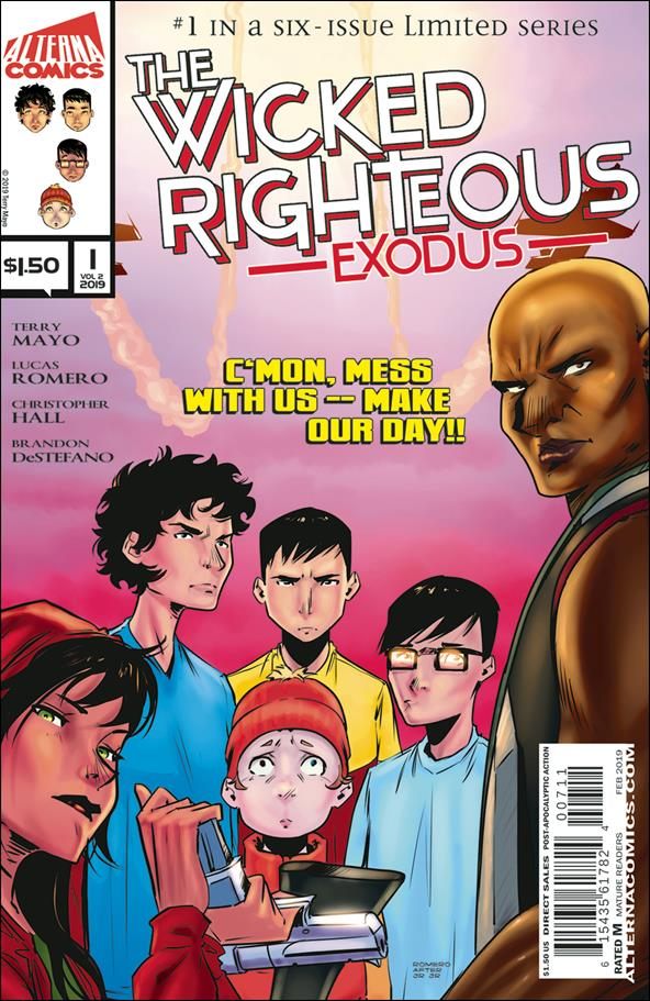 Wicked Righteous: Exodus 1-A by Alterna Comics