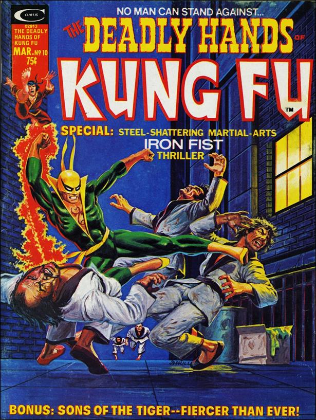 Deadly Hands of Kung Fu 10-A by Marvel