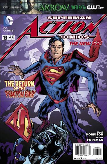 Action Comics (2011) 13-A by DC