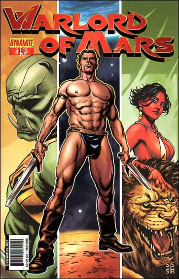 Warlord of Mars 14-B by Dynamite Entertainment