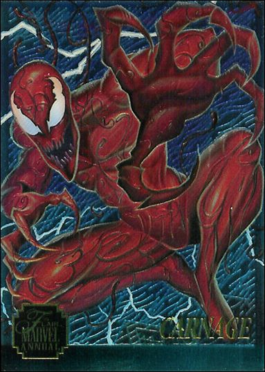 Marvel Annual Flair '95 (Chromium Subset) 2-A by Fleer
