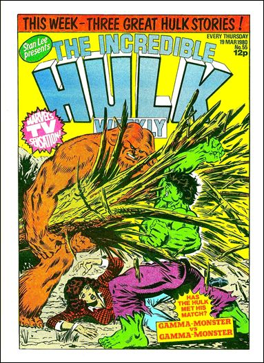 Hulk Comic (UK) 55-A by Marvel UK