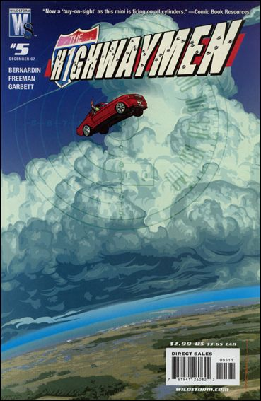 Highwaymen 5-A by WildStorm