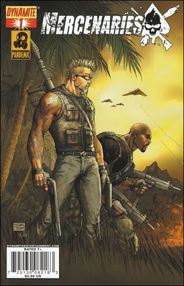 Mercenaries 1-A by Dynamite Entertainment